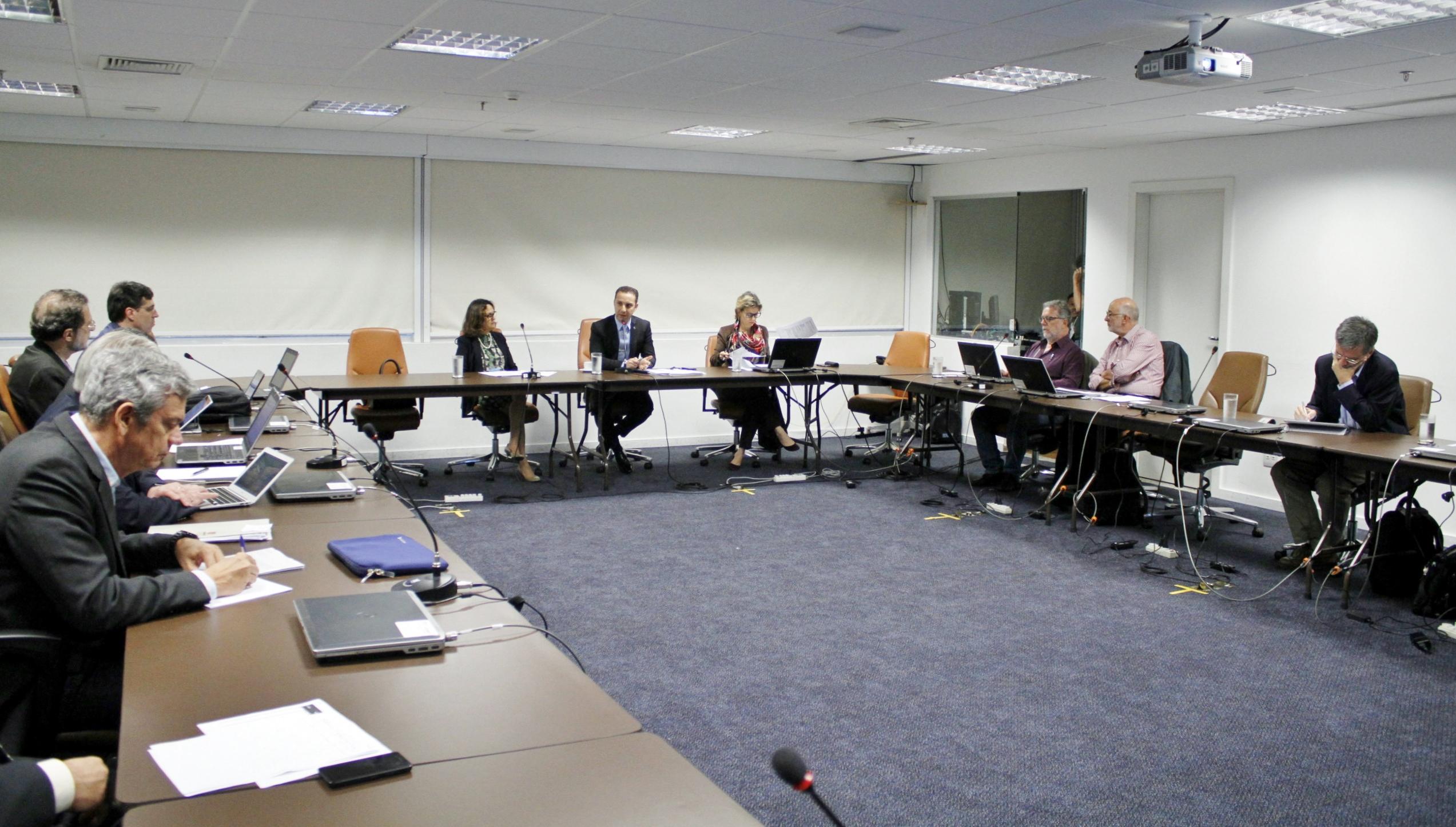 Prof. Marcelo Morales e Presidentes das FAPs reunidos no CNPq